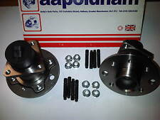 VAUXHALL ASTRA G MK4 1.4 1.6 1.7  2X REAR WHEEL BEARINGS /HUBS 4 STUD +ABS 99-04
