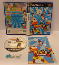 Gioco Game SONY Playstation 2 PS2 PAL ITALIANO - APE ESCAPE 2 - Cover A - 1° Ed.