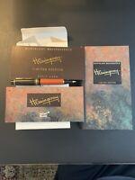 "Montblanc Hemingway ""1992"" Writer's Limited Edition Ballpoint Pen."
