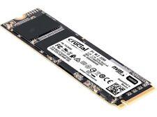 Crucial P1 SSD 500GB M.2 Micron NVMe 1.3 - PCIe 3.0 x4 - CT500P1SSD8