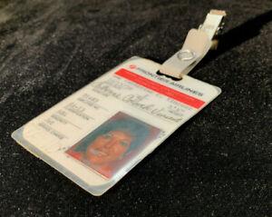 Vintage Frontier Airlines Flight Attendant Employee Airline Crew Identification