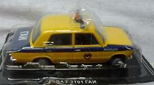 DeAgostini Russian Legends Lada Vaz BA3 2101 Police Car Die-Cast Model 1:43