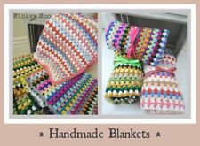 Handmade Knitted Cot Nursery Blankets & Throws