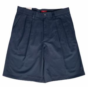 Izod Men's Pleated Dress Shorts