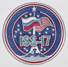 Aufnäher Patch Raumfahrt ISS Expedition 17 Sojus TMA-12 .........A3184
