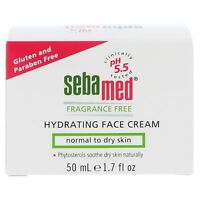 NEW Sebamed Fragrance Free Hydrating Face Cream for Normal to Dry Skin (50mL)