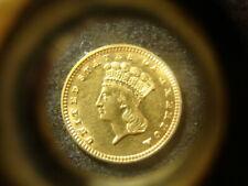 1889  BU  TY lll Three Gold $1.00 Dollar Rare Date Nice Coin WZX