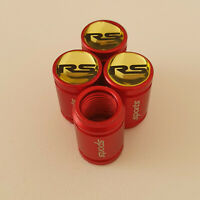 RS METAL SPORTS Valve Dust caps all Cars 7 COLORS UK DISPATCH FOCUS FIESTA KUGA