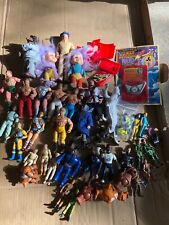vintage action figure lot Ghostbusters Soma Palitoy Battlestar Galactica Police