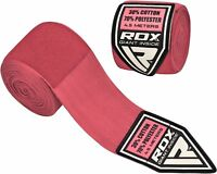 Auth RDX Hand Wraps Bandages Boxing Inner Gloves Muay Thai MMA Mexican Stretc CA