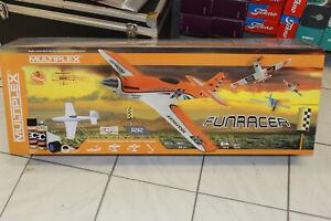 Multiplex 1-00518 RR FunRacer orange lackiert Rennflugzeug Brushles  NEU + OVP
