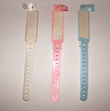 REBORN/ BABY HOSPITAL ID BAND SELECT COLOUR 1 BAND ONLY OF COLOUR CHOICE