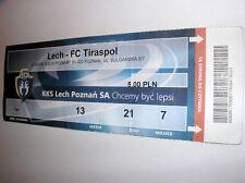 used ticket LECH Poznan - FC TIRASPOL 08.07.2006