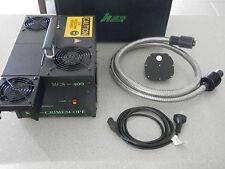 Horiba Jobin SPEX MCS400 Mini Crime Scope forensic light source kit+ light guide