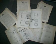 BIRMINGHAM RELATED PATENT 1895/1900 BULK LOT OF ONE HUNDRED PATENTS