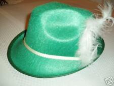 Green Biaritz, Alpine, German, Oktoberfest Hat - Large!