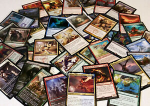 mtg Magic the Gathering 100 CARD LOT collection bulk cards + rares promos mythic