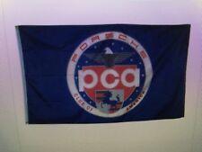 Official Porsche PCA Car Club of America Nylon Flag Banner Emblem Logo Sign