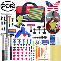 US Car Paintless Dent Repair Kit PDR Tools Slide Hammer Puller Bridge & Lifter