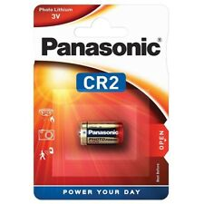 1x CR2 Foto-Batterie Lithium Photobatterie von PANASONIC im Blister