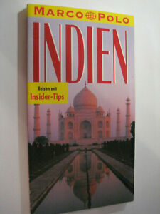 Indien Reiseführer Marco Polo Taschenbuch klein, aber fein! Topzustand