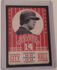 "2013 Hometown Heroes BLACK SP KENT HRBEK ""City Hall"" Twins #CH14 - Panini"