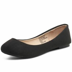 Alpine Swiss Pierina Womens Classic Round Toe Ballet Flats Work Slip On Shoes