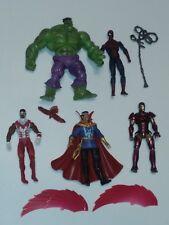 Avengers heroes Marvel Universe 3.75 figure Hulk Spiderman Doctor Strange Falcon