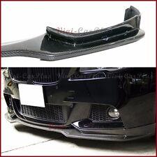 End CC Look Carbon Fiber Front Lower Lip 11-15 BMW F10 528i 535i 550i M Sport 4D