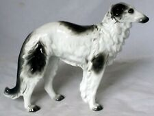 More details for sitzendorf borzoi/ russian wolfhound dog