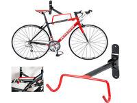 GARAGE WALL MOUNTED BIKE BICYCLE CYCLE STORAGE RACK HOOK HOLDER FITTING SCREWS