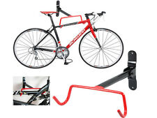 Wall Mounted Vélo Cycle Stockage Rack Porte-Crochet Support Garage w Vis