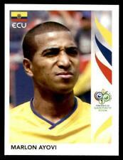 Panini FIFA 2006 World Cup sticker Germany #78 Marlon Ayovi Ecuador