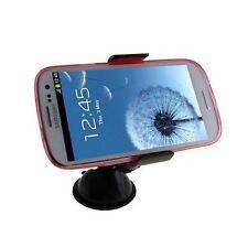 Supporto auto ventosa parabrezza pinze per Samsung Galaxy S3 NEO i9301 G800 Nero