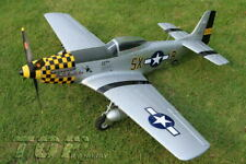 "BRUSHLESS P-51D Mustang 30"" Airplane RC PNP ESC Motor Servo A-RTF Fun-Fighter"
