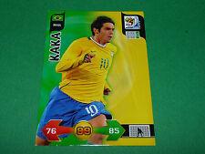 KAKA BRASIL BRESIL PANINI FOOTBALL FIFA WORLD CUP 2010 CARD ADRENALYN XL