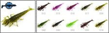 8 leurres souples larve insecte Diving Bug FISHUP 50mm pêche truite chevesne