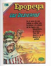 Epopeya No 151 1970 Spanish Epic Desert Caravan Cover!