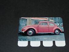 N°88 VW KÄFIG COCINELLE PLAQUE METAL COOP 1964 AUTOMOBILE A TRAVERS AGES
