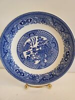 Blue Willow Dinner Plate by Churchill Potteries England