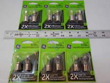 (12) GE 1156LL Miniature Lamp Bulb 27w Single Contact 12 volt S8 12v Free Ship!!