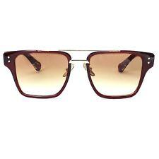 Women Mach Square Vintage Metal Bar Black Brown Fashion Designer Sunglasses