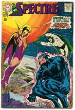 The Spectre 3 FN 5.5 DC 1968 Silver Age Wildcat Neal Adams