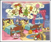 Sierra Leone 1990 Disney/Christmas/Teddy Bear/Doll/Toys/Cartoons 1v m/s  b4762mb