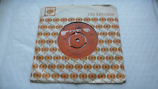"""7"""" CBS demo JOHNNY MATHIS Everything's coming up roses / Small World AAG 124"""