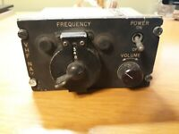 Collins Radio Company C-760 VHF NAV Radio Aircraft Radio Frequency Adjuster