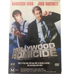 Hollywood Homicide Region 4 DVD Action Adventure Harrison FORD Martin LANDAU
