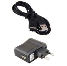 Batería Cargador CA Pared EU + Cable USB para Nintendo DS NDS Gameboy Advance GBA SP