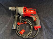 New Listingcraftsman 70 Amp Corded Hammer Drill 12 Drill Chuck Handle No Box