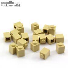 LEGO 3005: 20x Stein 1x1  beige (brick) NEU